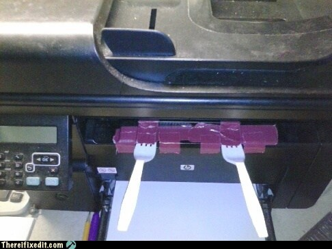 Easy printer fix, There I fixed it
